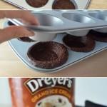 Ice Cream Sundae Brownie Bowls