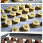 Chocolate Covered Frozen Banana and Peanut Butter Bites