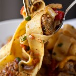 Italian Drunken Noodles, and Shaking Things up a Bit