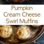 Pumpkin Cream Cheese Swirl Muffins