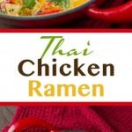 Thai Chicken Ramen
