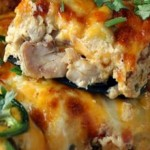 Buffalo Chicken Jalapeno Popper Casserole