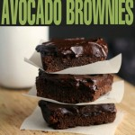 Fudgy Avocado Brownies with Avocado Frosting