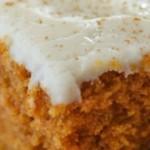 Grandma's Pumpkin Snack Cake