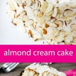 Almond Cream Cake recipe