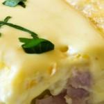 Eggs Benedict Quiche