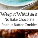 Weight Watchers No Bake Chocolate Cookies