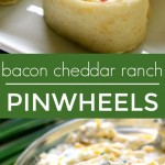 Bacon Cheddar Ranch Pinwheels