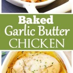 Baked Garlic Butter Chicken