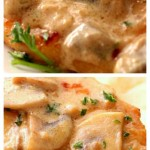 Creamy Mushroom Garlic Chicken Recipe