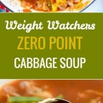 Weight Watchers Zero Point Cabbage Soup