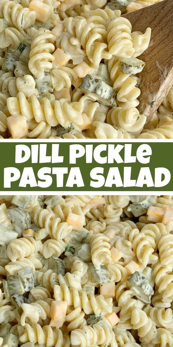 Dill-Pickle-Pasta-Salad