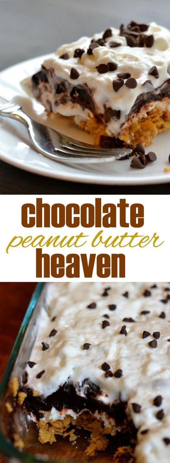 Chocolate-Peanut-Butter-No-Bake-Dessert
