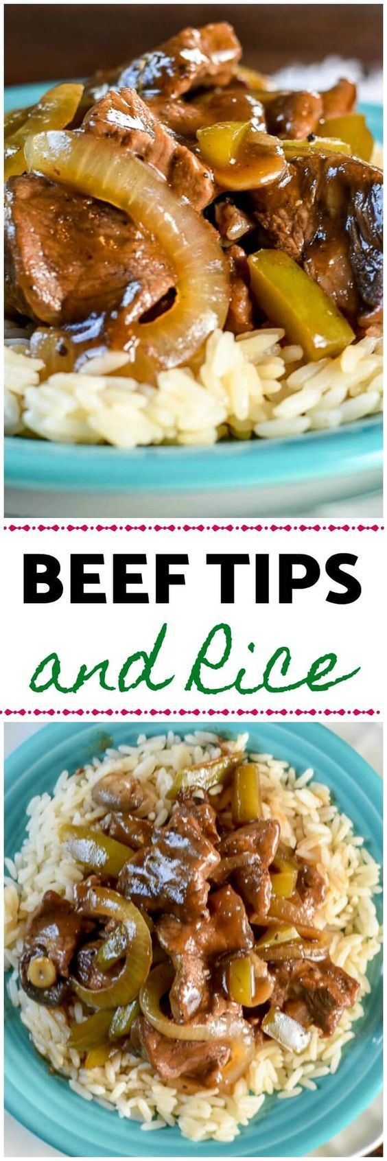 Beef-Tips-And-Rice