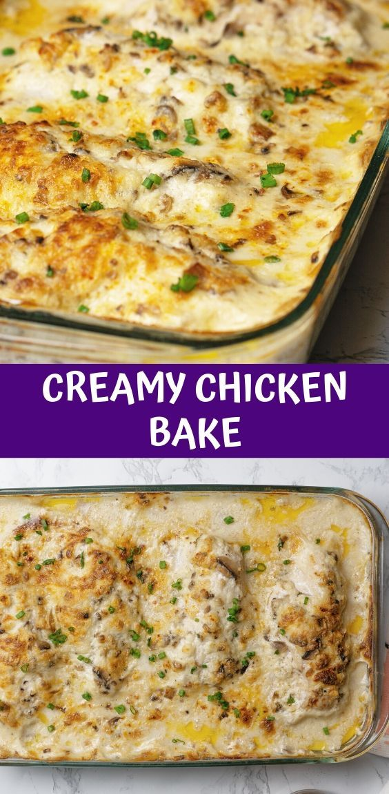 Creamy-Chicken-Bake