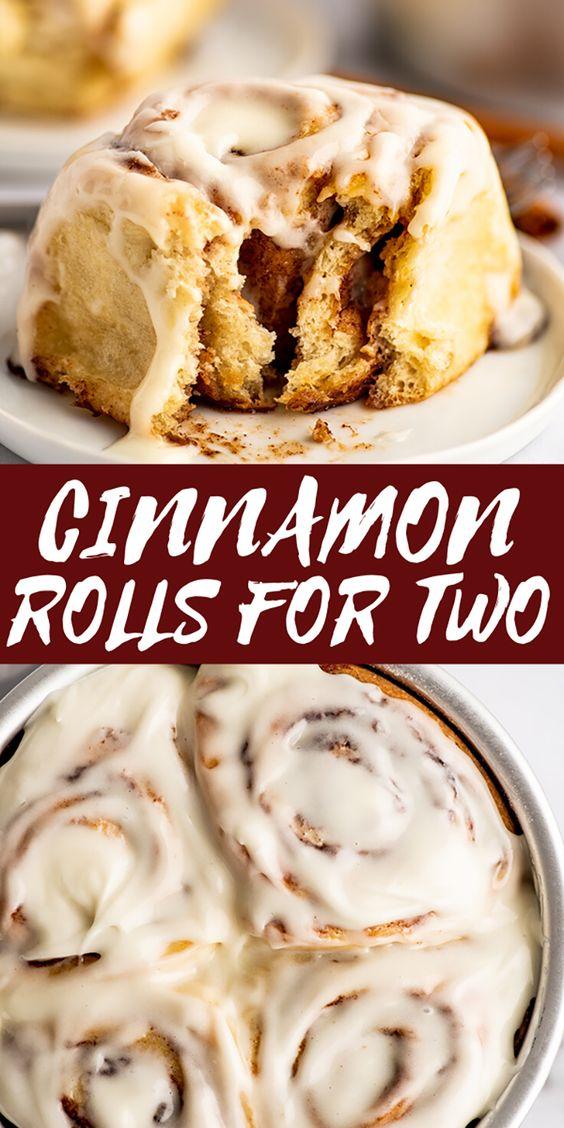Easy-Small-batch-Cinnamon-Rolls