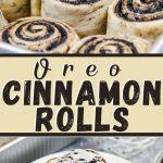Oreo Cinnamon Rolls
