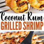 Coconut-Rum Grilled Shrimp Recipe – only 5 ingredients!