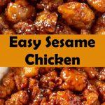 Easy Sesame Chicken