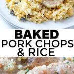 Baked Pork Chops & Rice