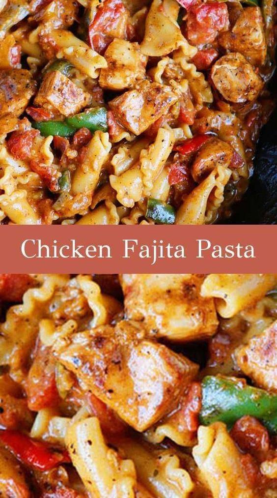 Chicken-Fajita-Pasta