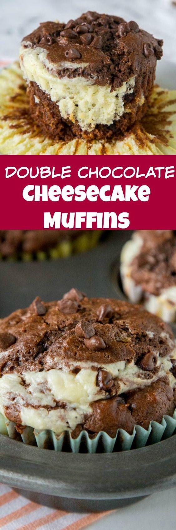 Double-Chocolate-Cheesecake-Muffins