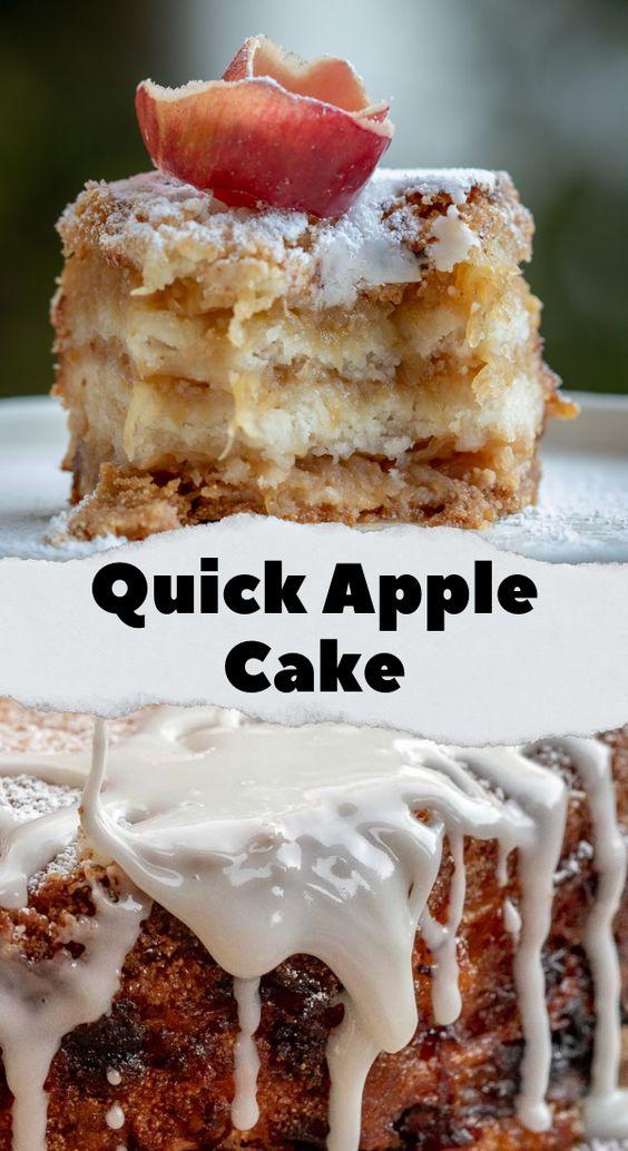 Quick-Apple-Cake