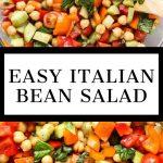Italian Bean Salad Recipe