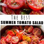 Best Summer Cherry Tomato Salad