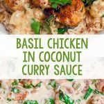 Basil-Chicken-in-Coconut-Curry-Sauce