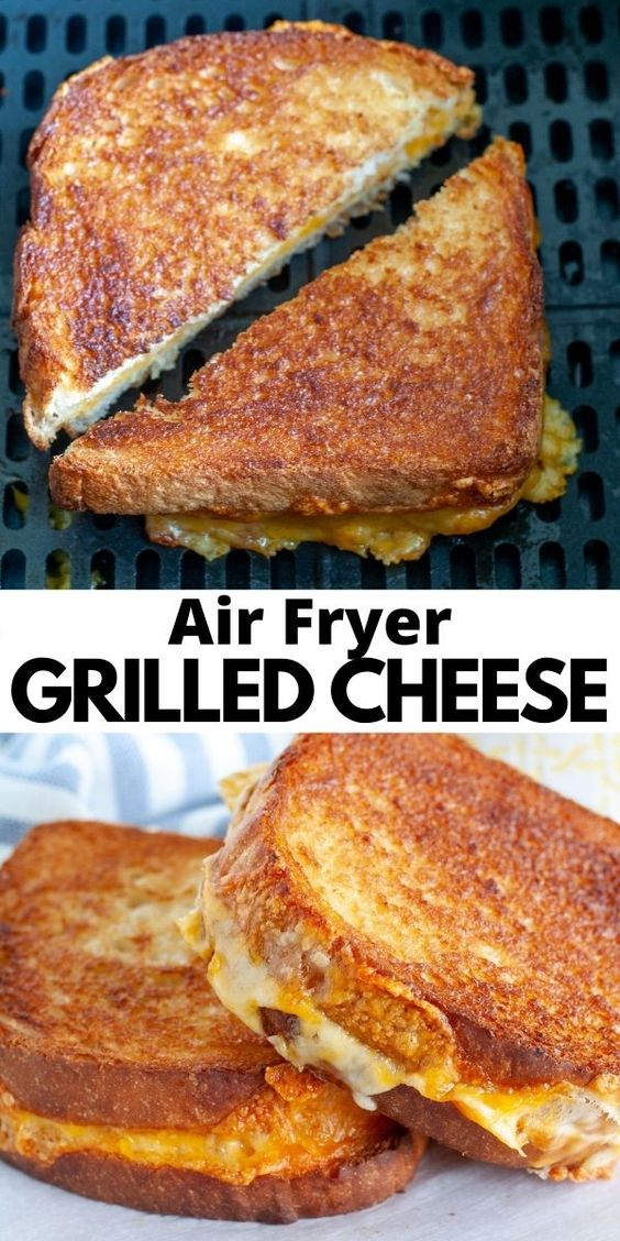 Air-Fryer-Grilled-Cheese