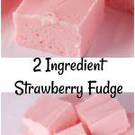 Two-Ingredient-Strawberry-Fudge