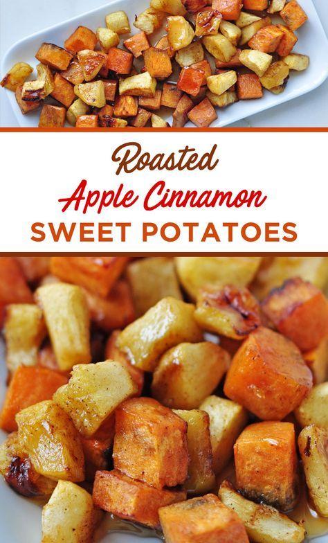 Roasted Apple-Cinnamon-Sweet-Potatoes