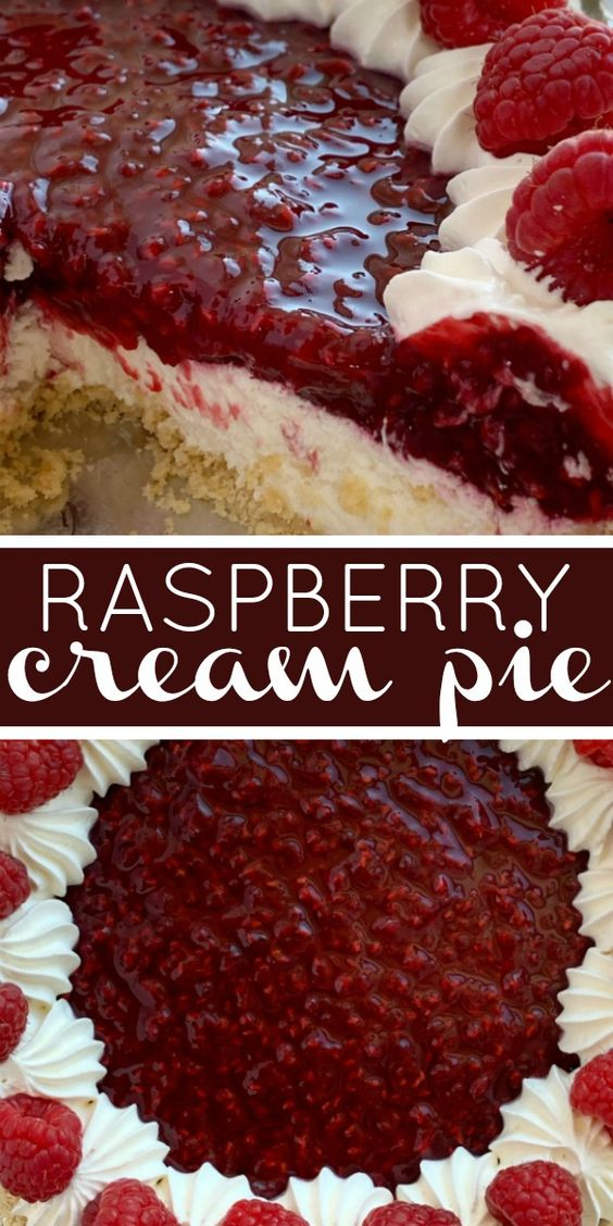 Raspberry-Cream-Pie