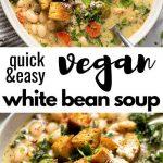 30 Minute White Bean Kale Soup