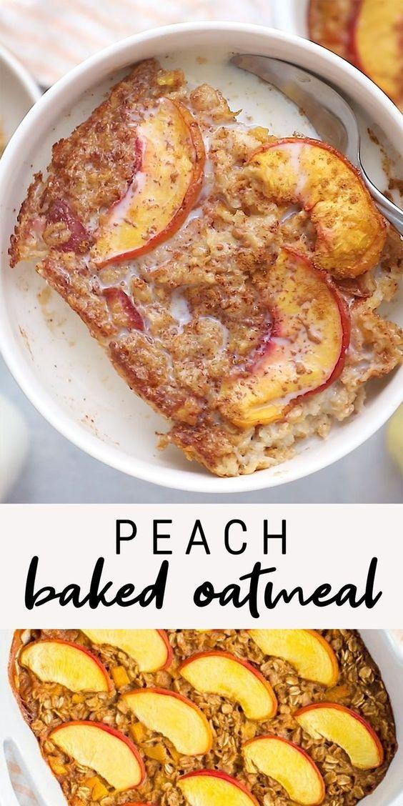 Peach-Baked-Oatmeal