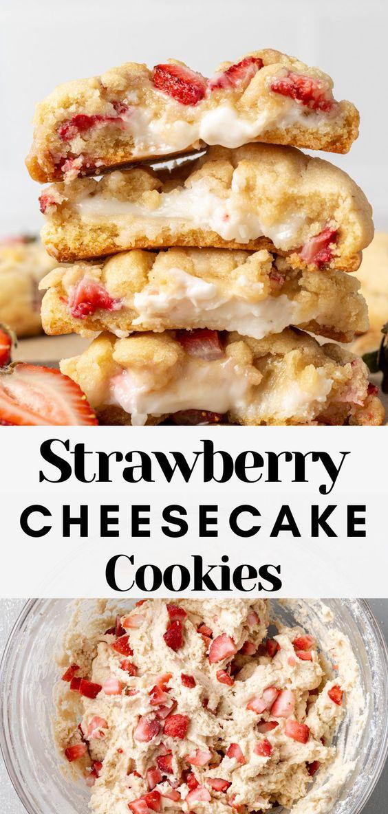 Strawberry-Cheesecake-Cookies