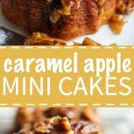 Caramel Apple Mini Cakes