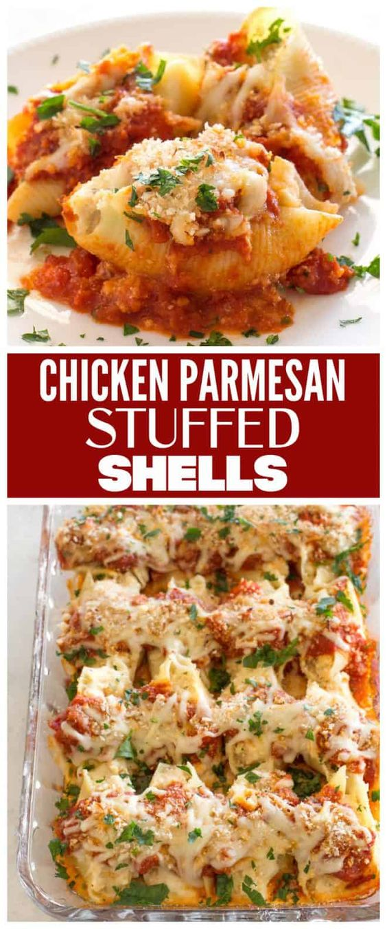 Chicken-Parmesan-Stuffed-Shells