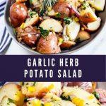 Garlic Herb Potato Salad