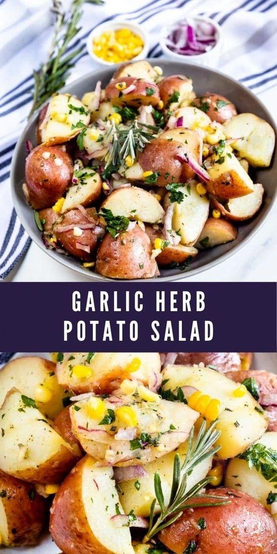 Garlic-Herb-Potato-Salad
