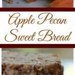 Apple Bread with Cinnamon Pecan Crunch
