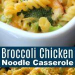Healthy Chicken Broccoli Pasta Casserole