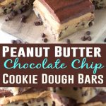 No-Bake-Peanut-Butter-Chocolate-Chip-Cookie-Dough-Bars