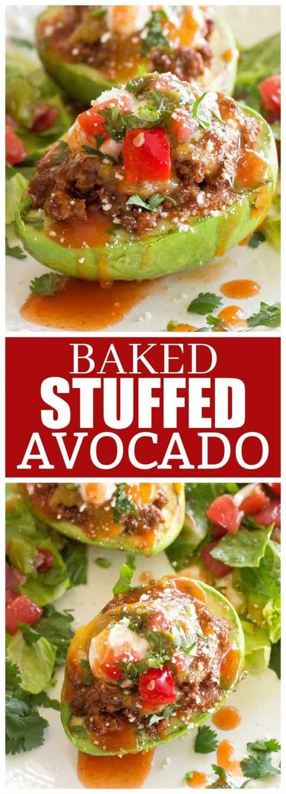 Baked-Stuffed-Avocado