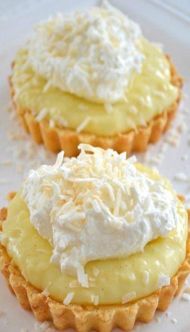 Coconut-Cream-Tarts