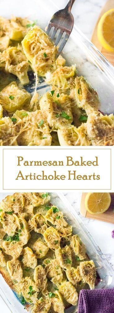 Parmesan-Baked-Artichoke-Hearts