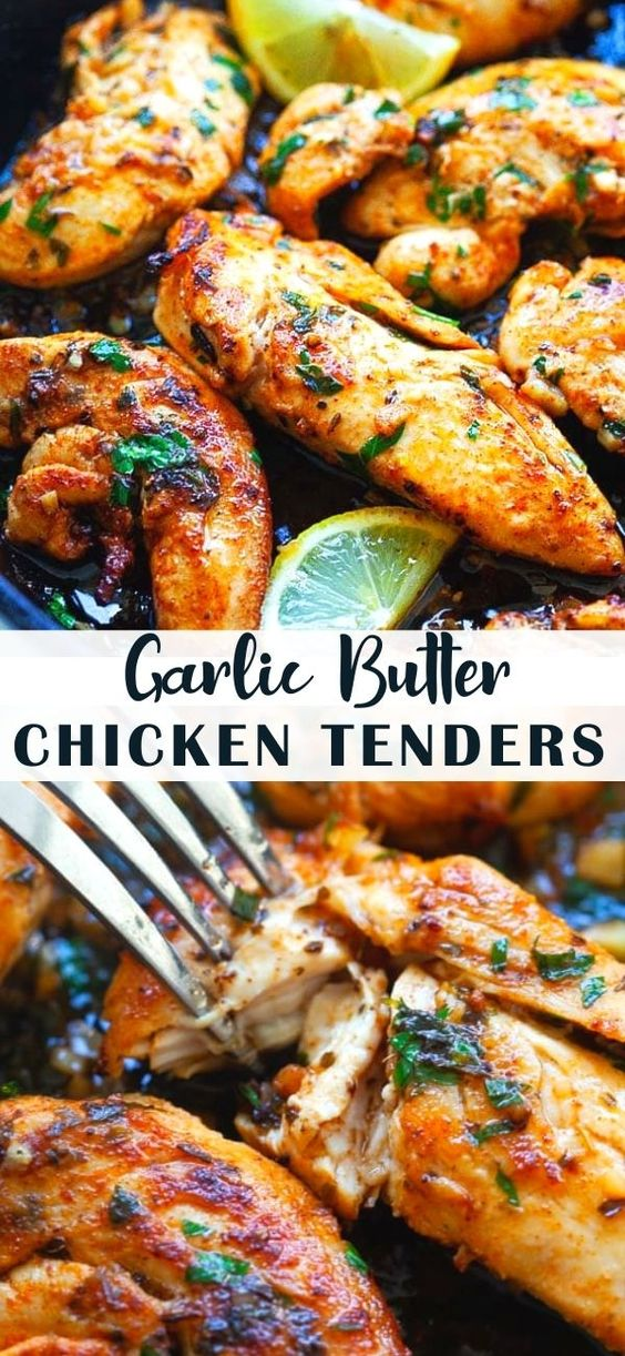 GARLIC-BUTTER-CHICKEN-TENDERS